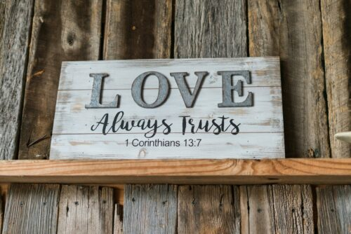 love and trust, marriage